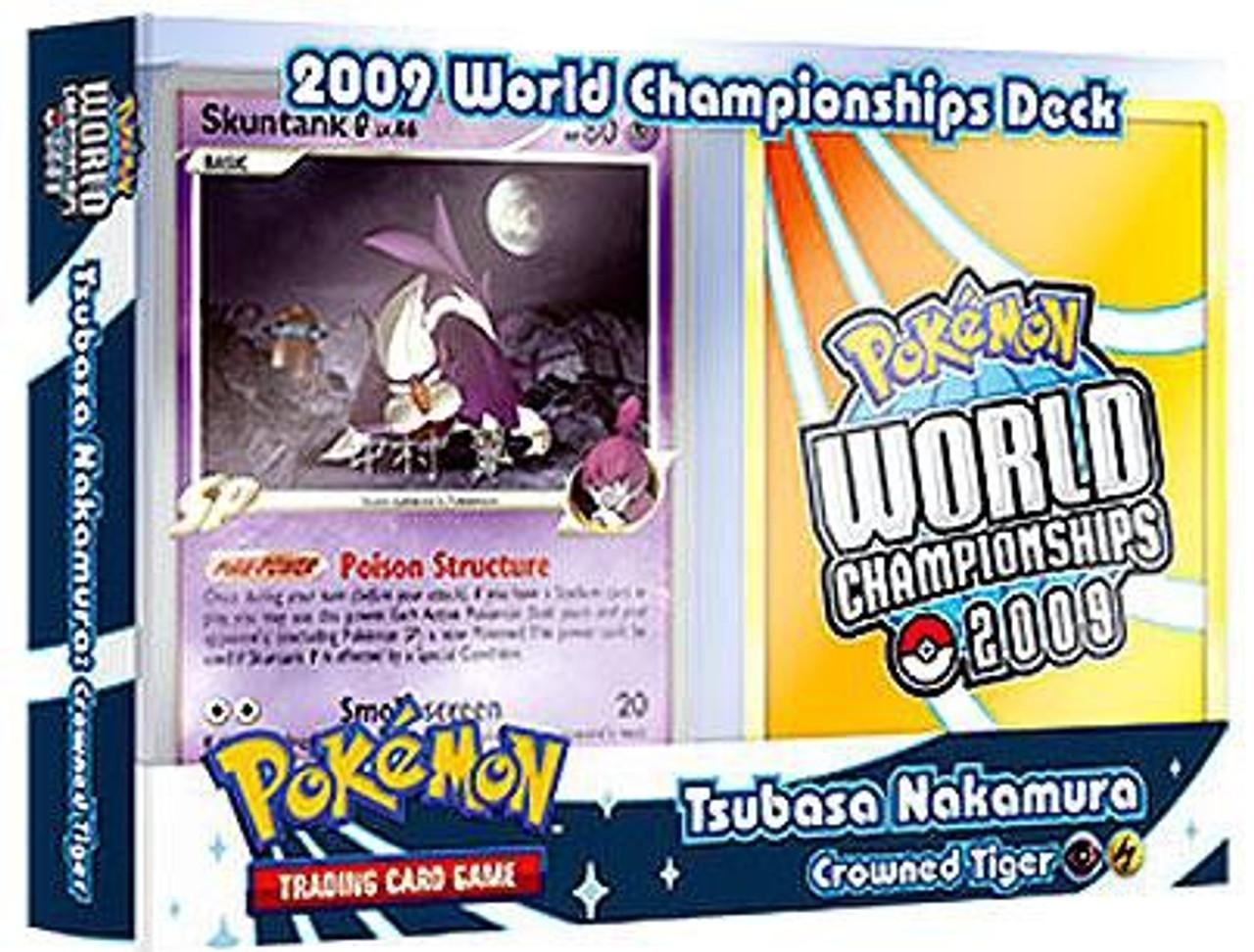 Pokemon World Championships Deck 2009 Tsubasa Nakamura's Crowned Tiger Deck