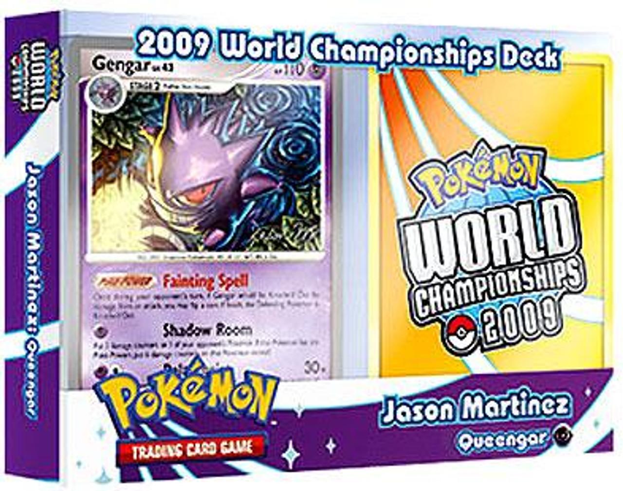 Pokemon World Championships Deck 2009 Jason Martinez Queengar Deck