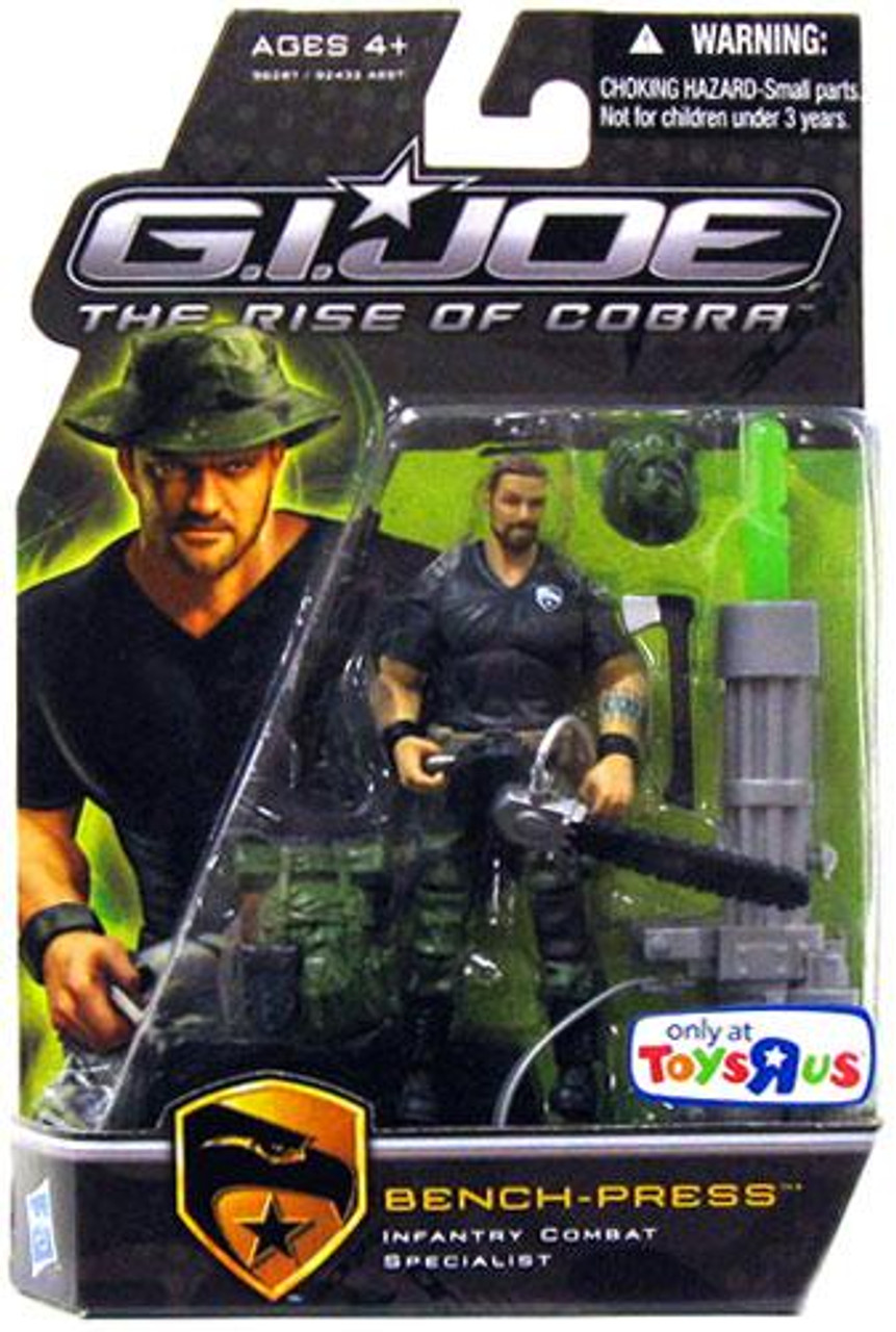 GI Joe The Rise of Cobra Bench-Press Exclusive Action Figure