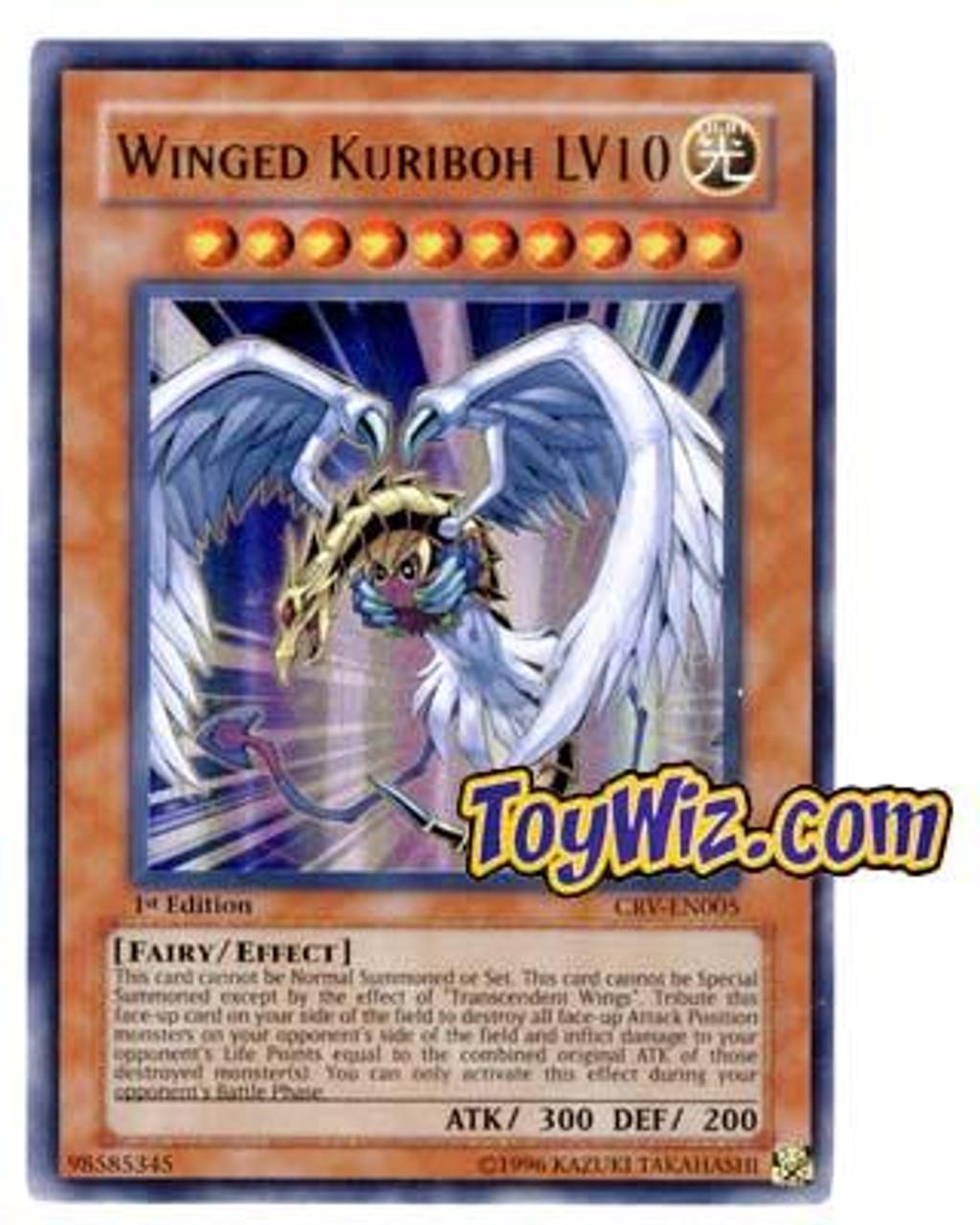 YuGiOh Cybernetic Revolution Ultra Rare Winged Kuriboh LV10 CRV-EN005