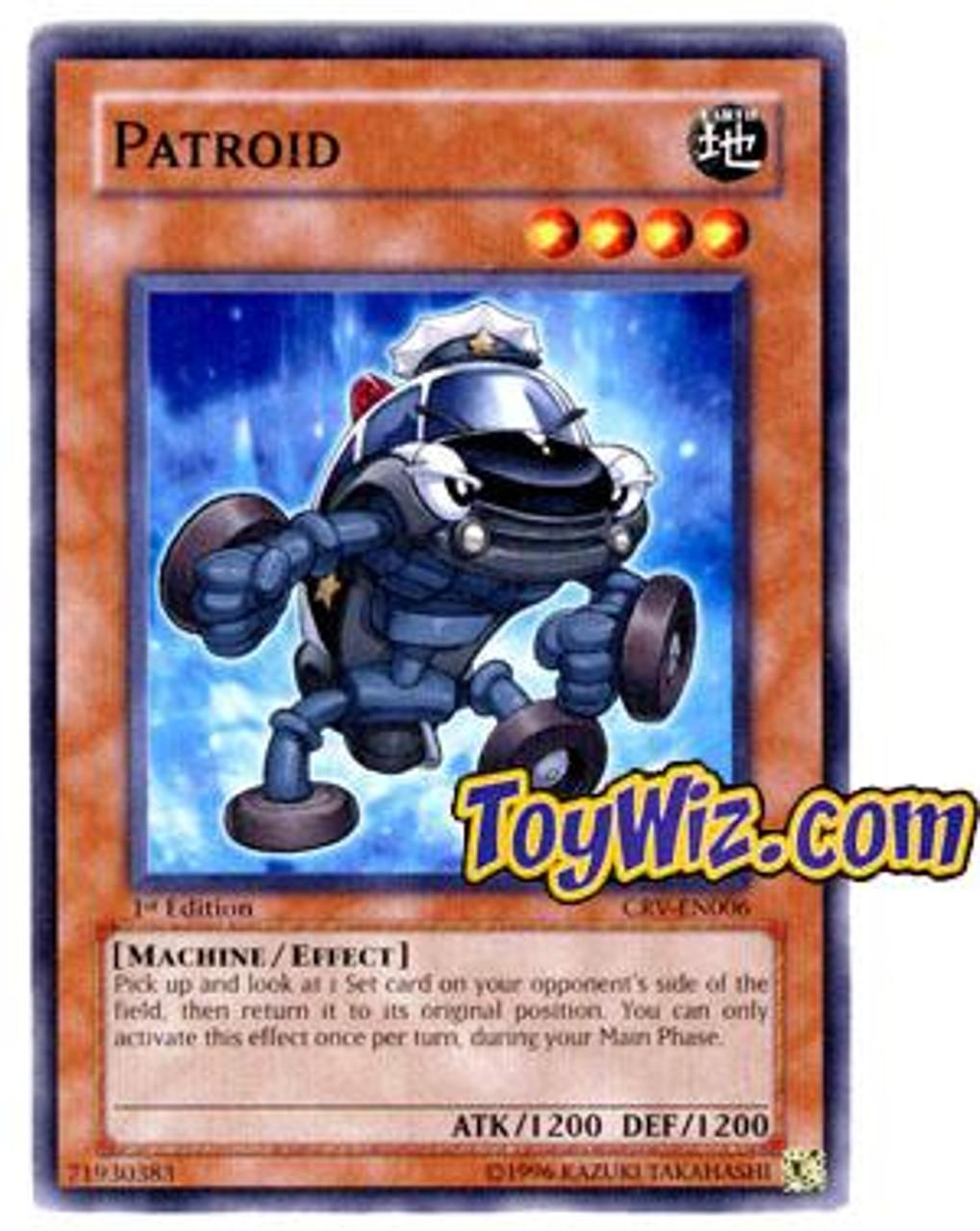 YuGiOh Cybernetic Revolution Common Patroid CRV-EN006