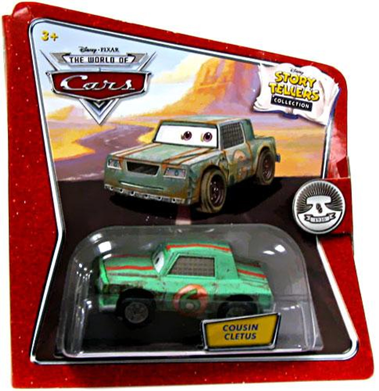 Disney Cars The World of Cars Story Tellers Cousin Cletus Diecast Car