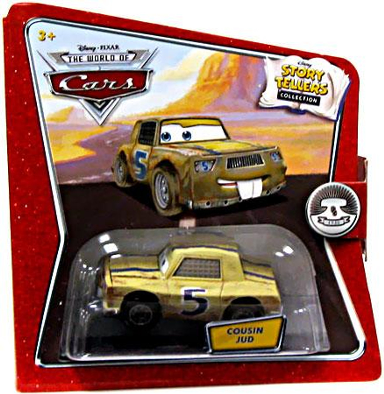 Disney Cars The World of Cars Story Tellers Cousin Jud Diecast Car
