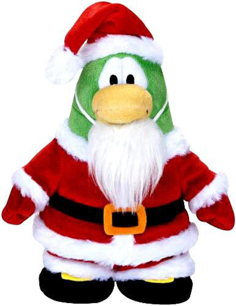 Club Penguin Series 5 Santa 6.5-Inch Plush Figure [Holiday, Version 2]