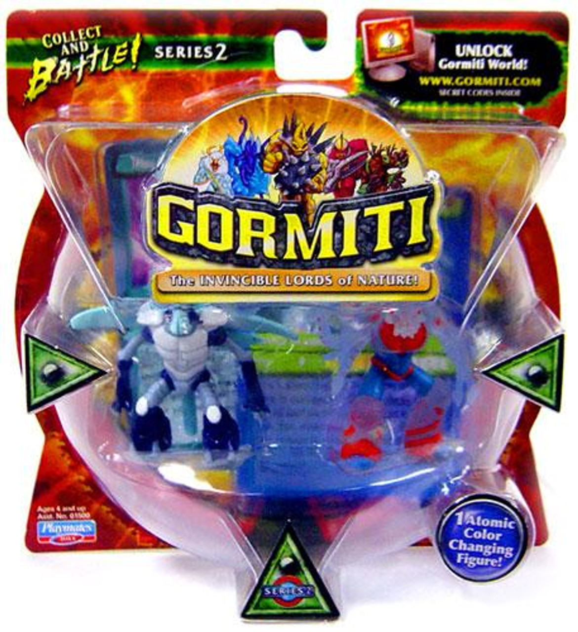 Gormiti Series 2 Dragon the Lethal & Multiplep Mini Figure 2-Pack [Random Colors]