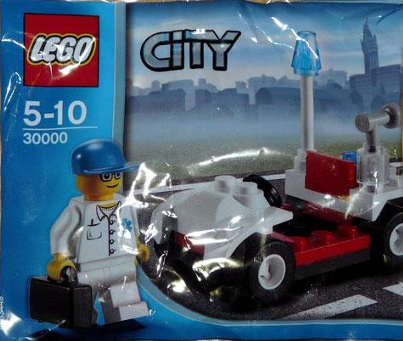 LEGO City Doctor with Car Mini Set #30000 [Bagged]