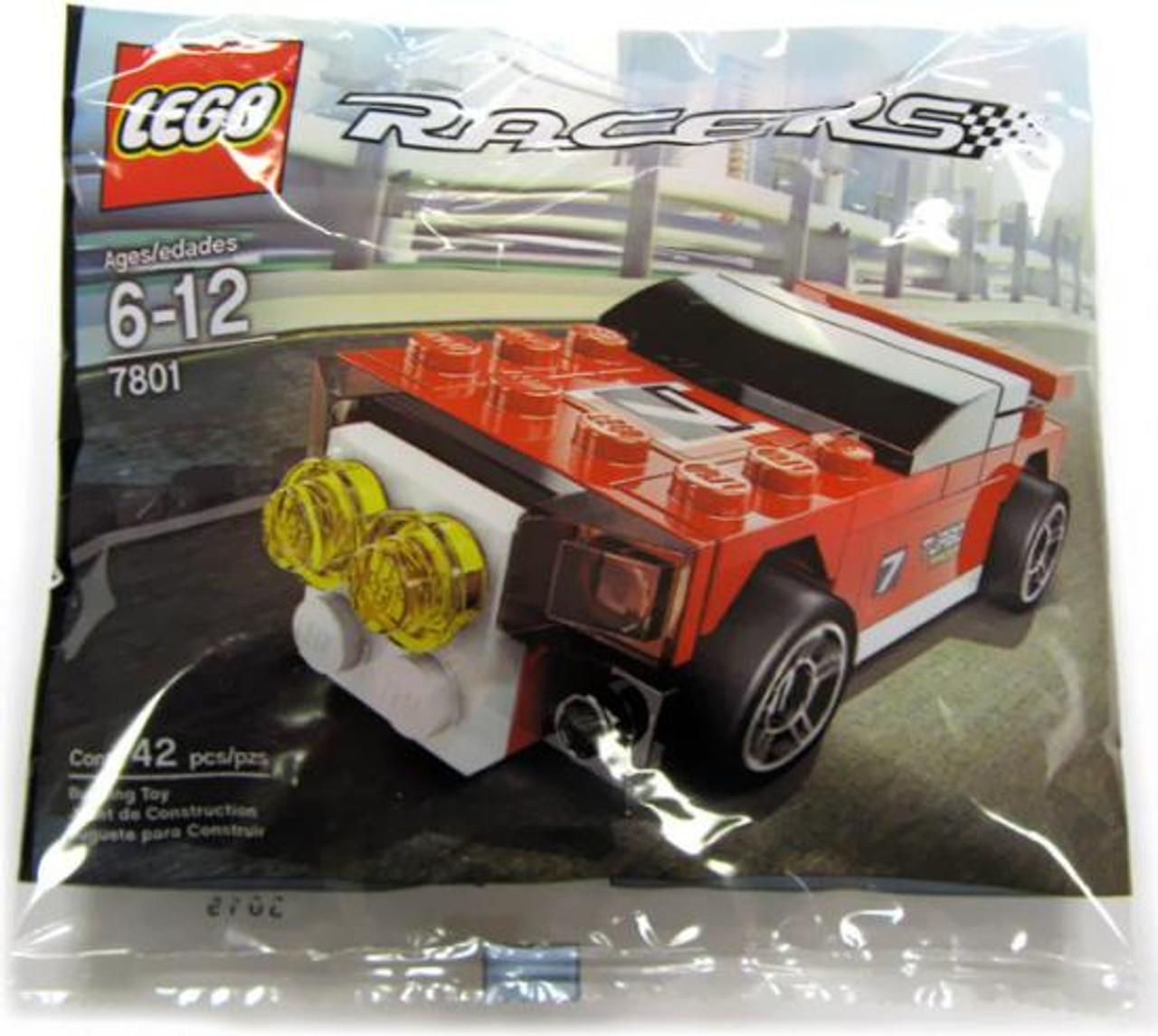 LEGO Racers Rally Racer Mini Set #7801 [Bagged]