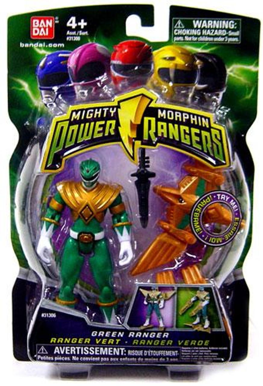 Power Rangers Mighty Morphin (2009) Green Ranger Action Figure