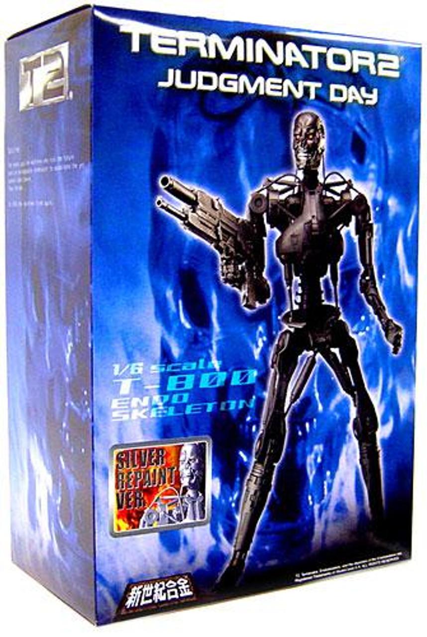 Terminator 2 Judgment Day T-800 Endoskeleton 1/6 Model Kit [Silver Repaint Version]