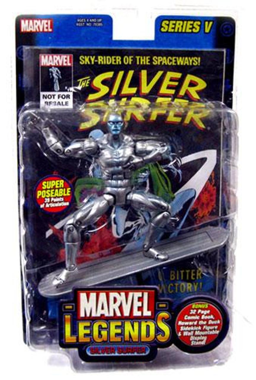 Marvel Legends Series 5 Silver Surfer Action Figure