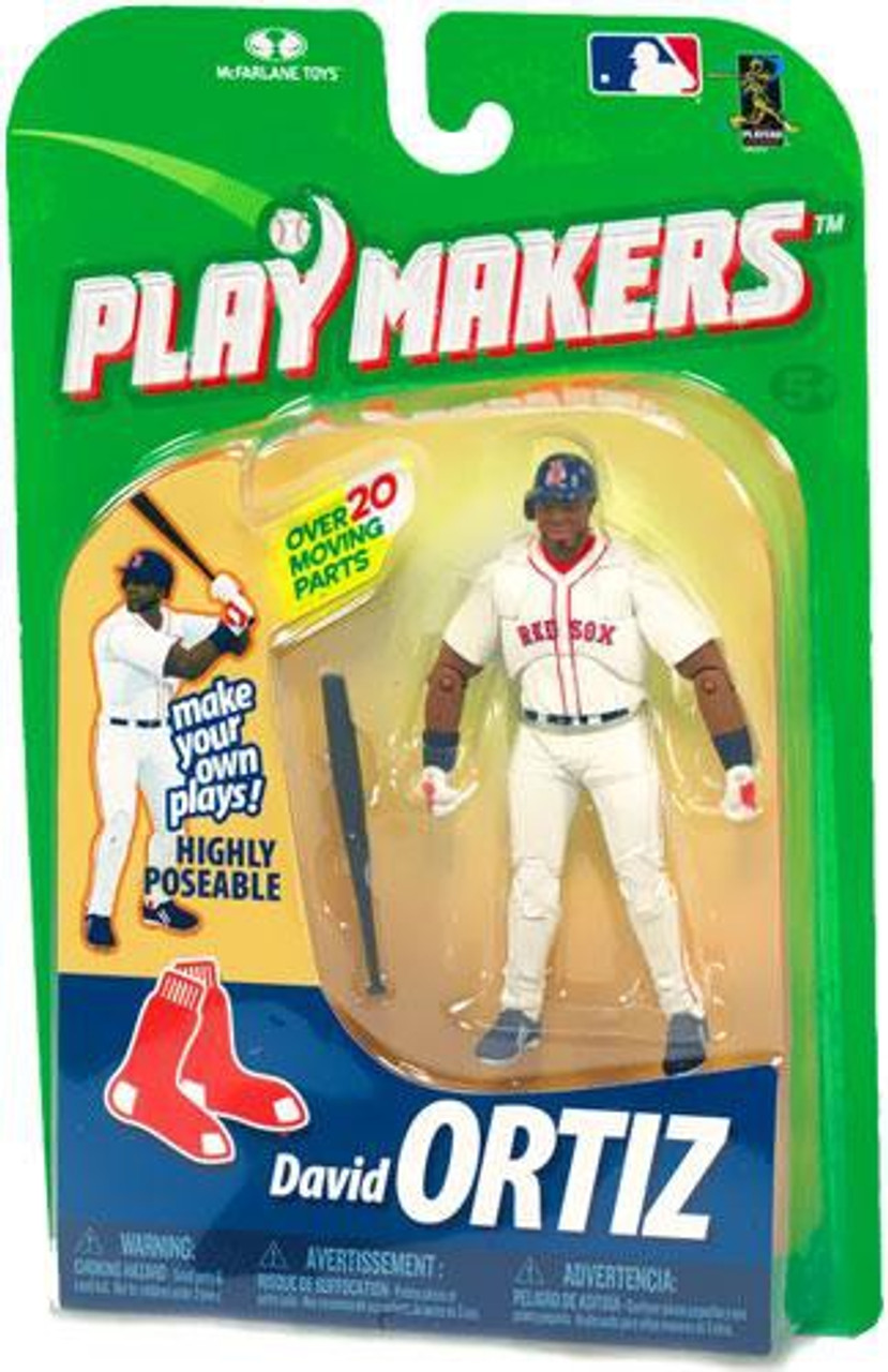 McFarlane Toys MLB Boston Red Sox Playmakers Series 1 David Ortiz Action Figure [Batting]