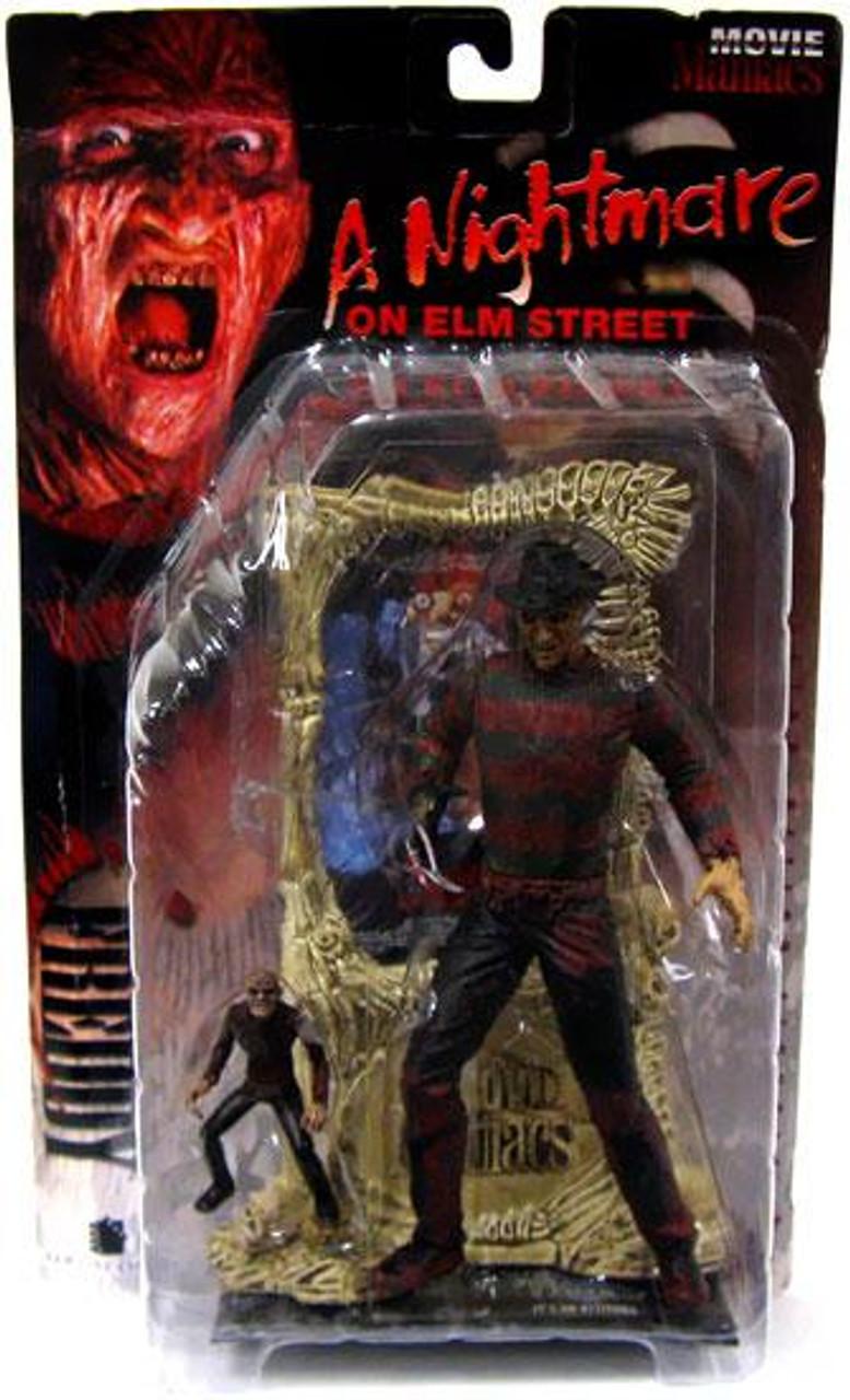 McFarlane Toys A Nightmare on Elm Street Movie Maniacs Series 1 Freddy Krueger Action Figure [Bloody]