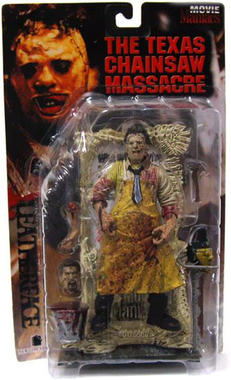McFarlane Toys The Texas Chainsaw Massacre Movie Maniacs Series 1 Leatherface Action Figure [Bloody]