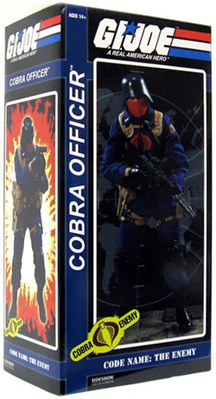 GI Joe Cobra Enemy Cobra Officer 1/6 Collectible Figure