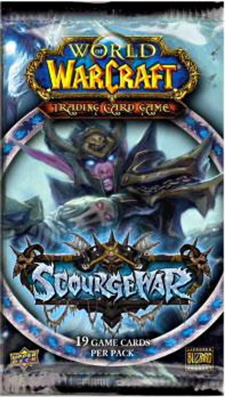 World of Warcraft Trading Card Game Scourgewar Booster Pack