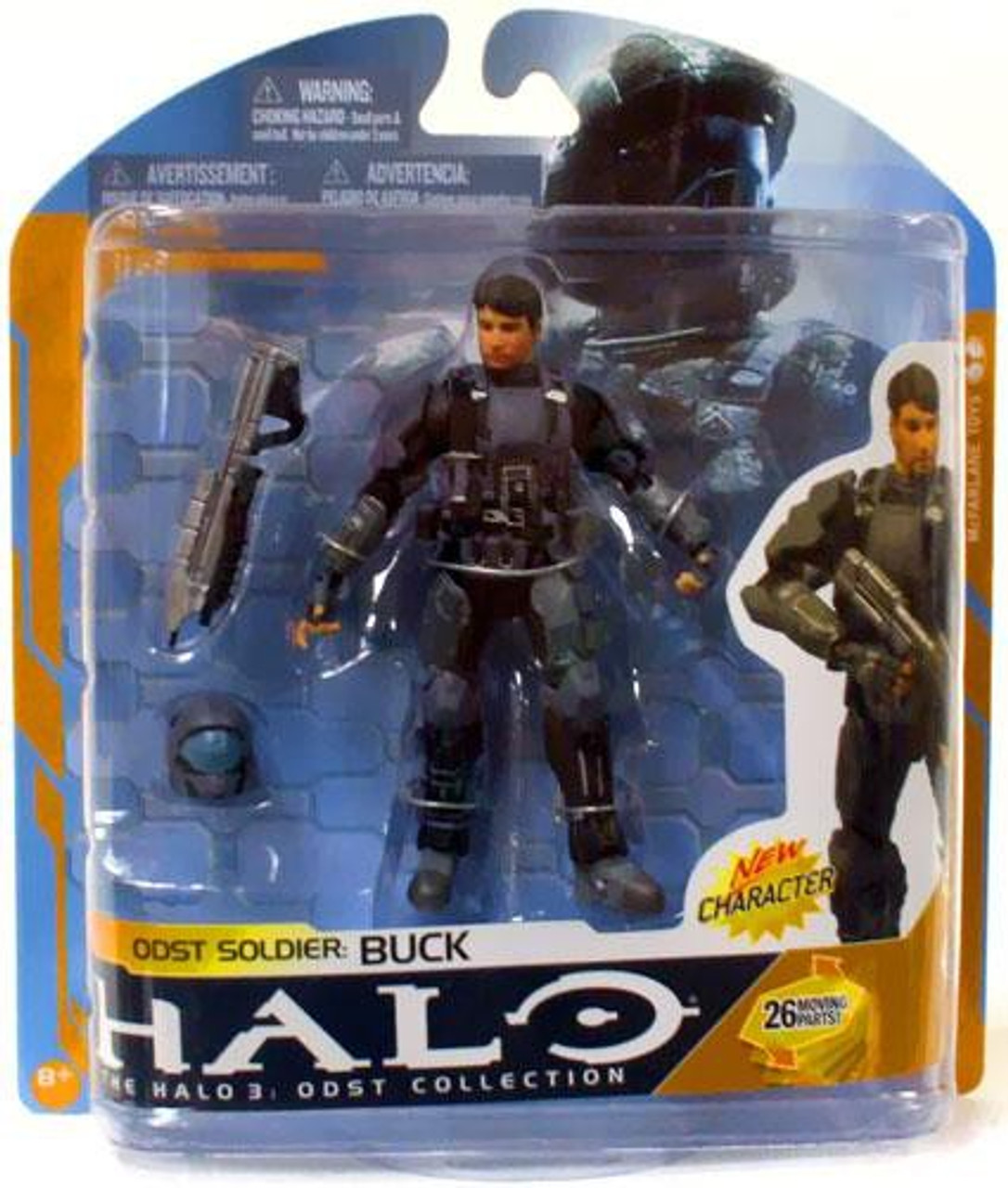 McFarlane Toys Halo 3 Series 8 ODST Soldier: Buck Action Figure