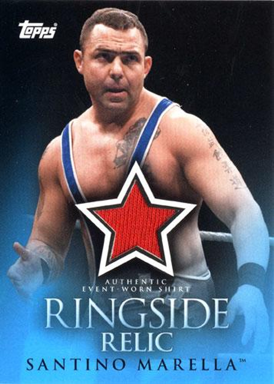WWE Wrestling 2009 Trading Cards Ringside Relic Santino Marella