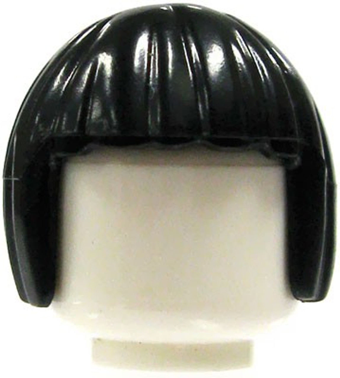 LEGO Minifigure Parts Female Black Bob Cut Loose Hair [Loose]