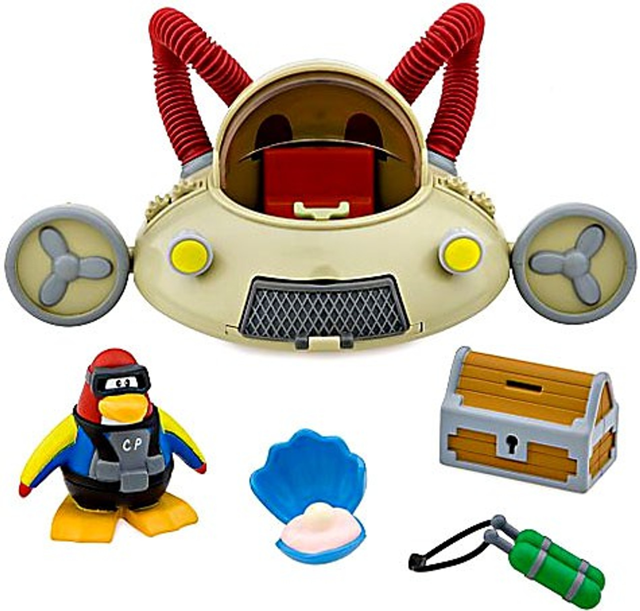 Club Penguin Aqua Grabber Vehicle Vehicle Set