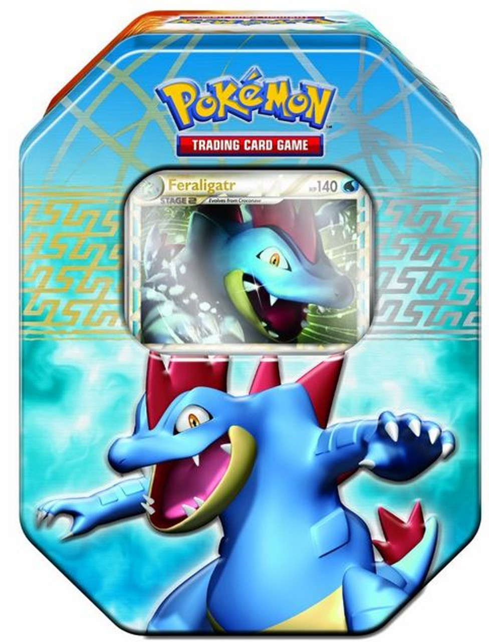 Pokemon HeartGold & Soulsilver Spring 2010 Feraligatr Collector Tin