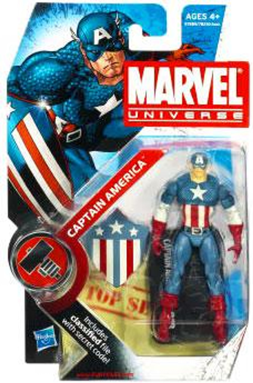 Marvel Universe Series 7 Captain America Action Figure #8 [Original Costume]