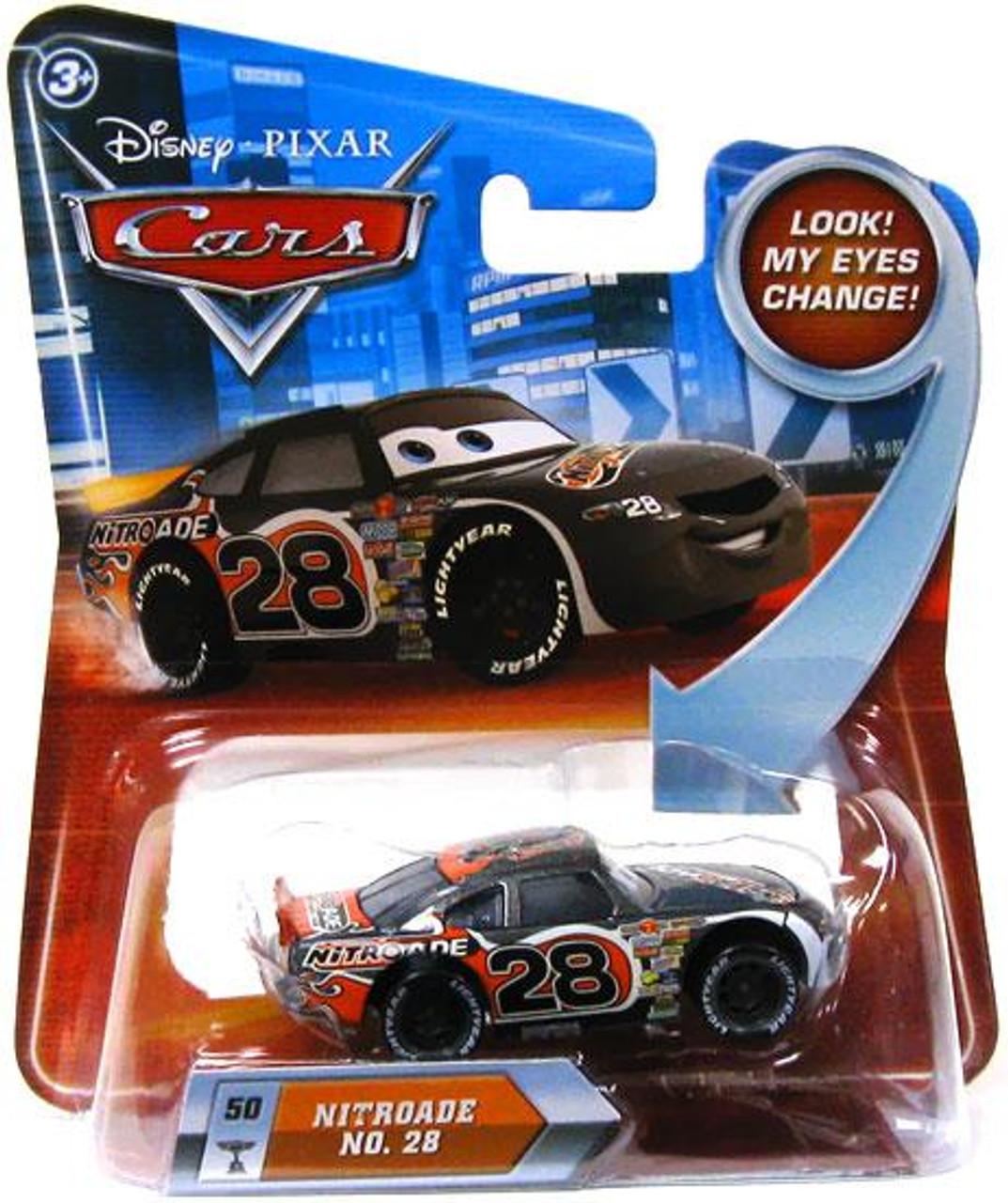 Disney Cars Lenticular Eyes Series 2 Nitroade Diecast Car