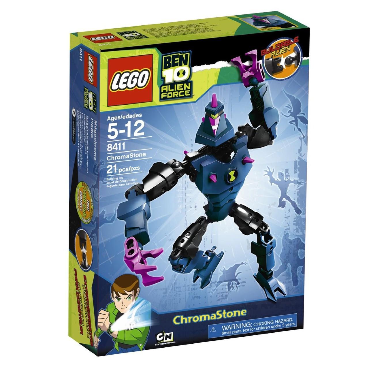 LEGO Ben 10 Alien Force Figures Chromastone Set #8411
