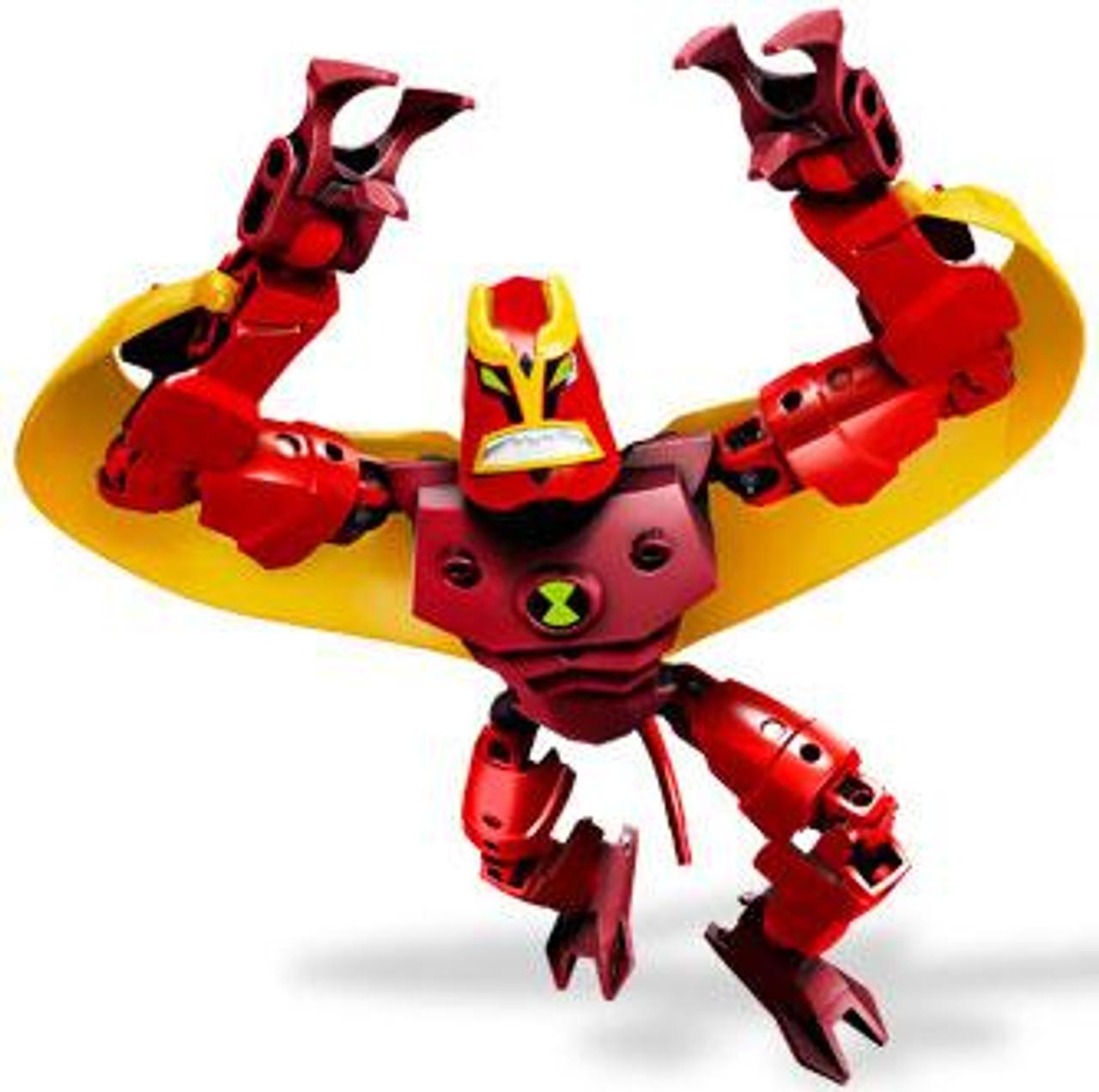 LEGO Ben 10 Alien Force Figures Jet Ray Set #8518
