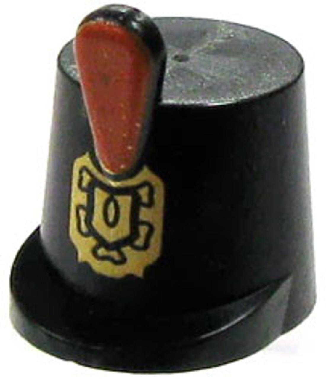 LEGO Minifigure Parts Black Navy Shako Minifigure Accessory [Loose]