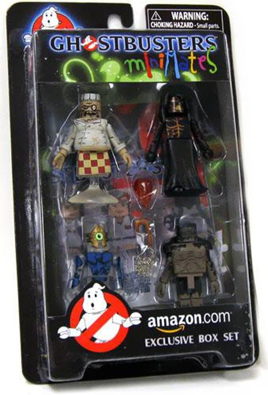 The Video Game Ghostbusters Minimates Exclusive Minifigure 4-Pack