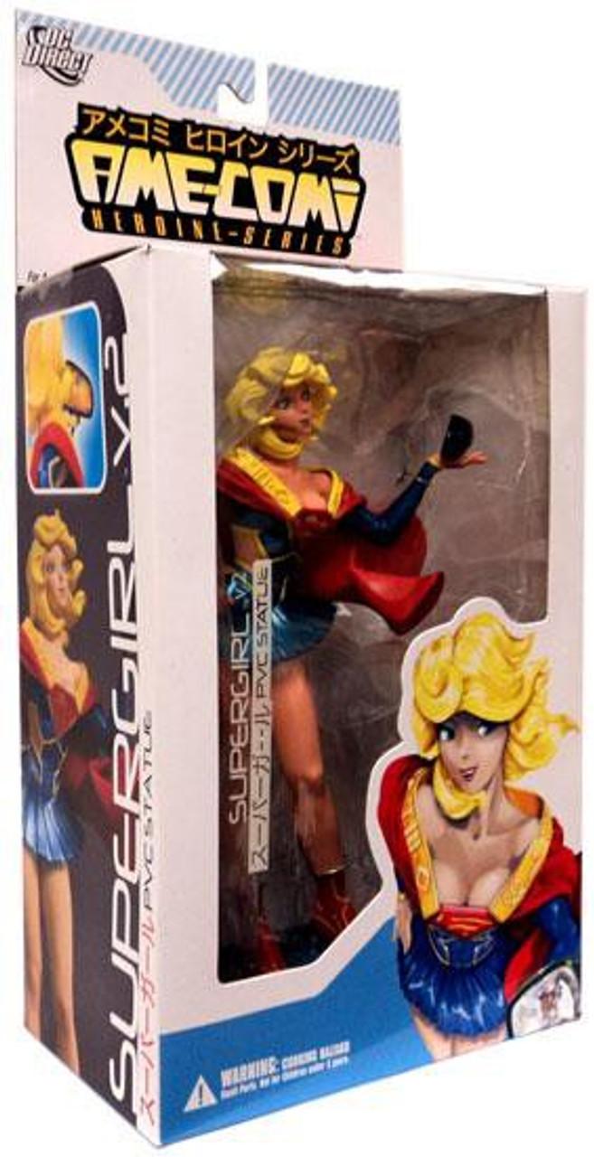 DC Ame-Comi Heroine Series Supergirl 9-Inch PVC Statue [Version 2]