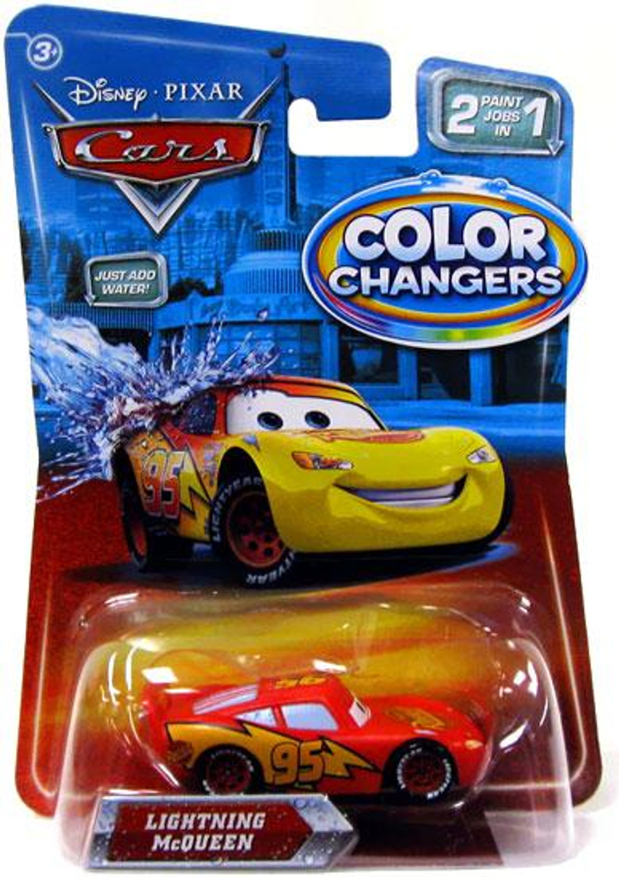 Disney Cars Color Changers Lightning McQueen Diecast Car
