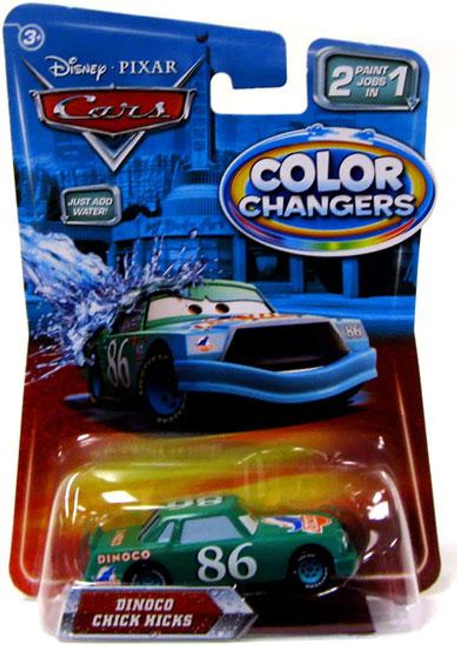Disney Cars Color Changers Dinoco Chick Hicks Diecast Car