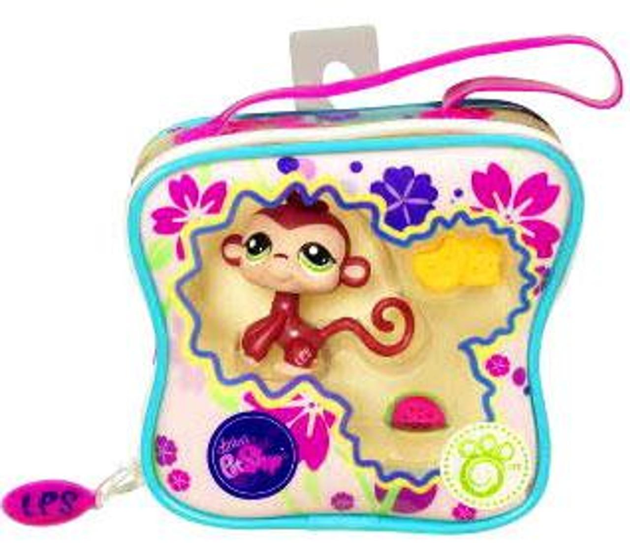 Littlest Pet Shop Monkey Purse Carry Case