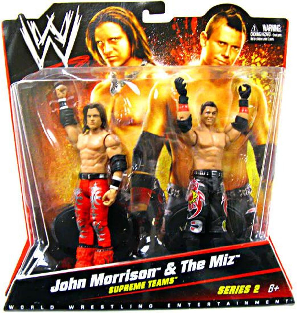 WWE Wrestling Series 2 John Morrison & The Miz Action Figure 2-Pack