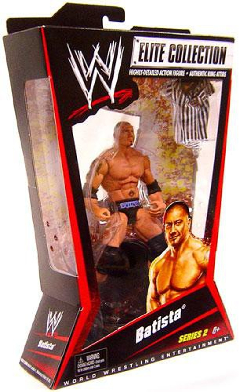 WWE Wrestling Elite Series 2 Batista Action Figure