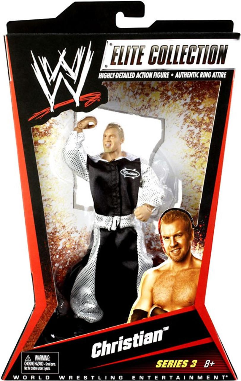 WWE Wrestling Elite Series 3 Christian Action Figure