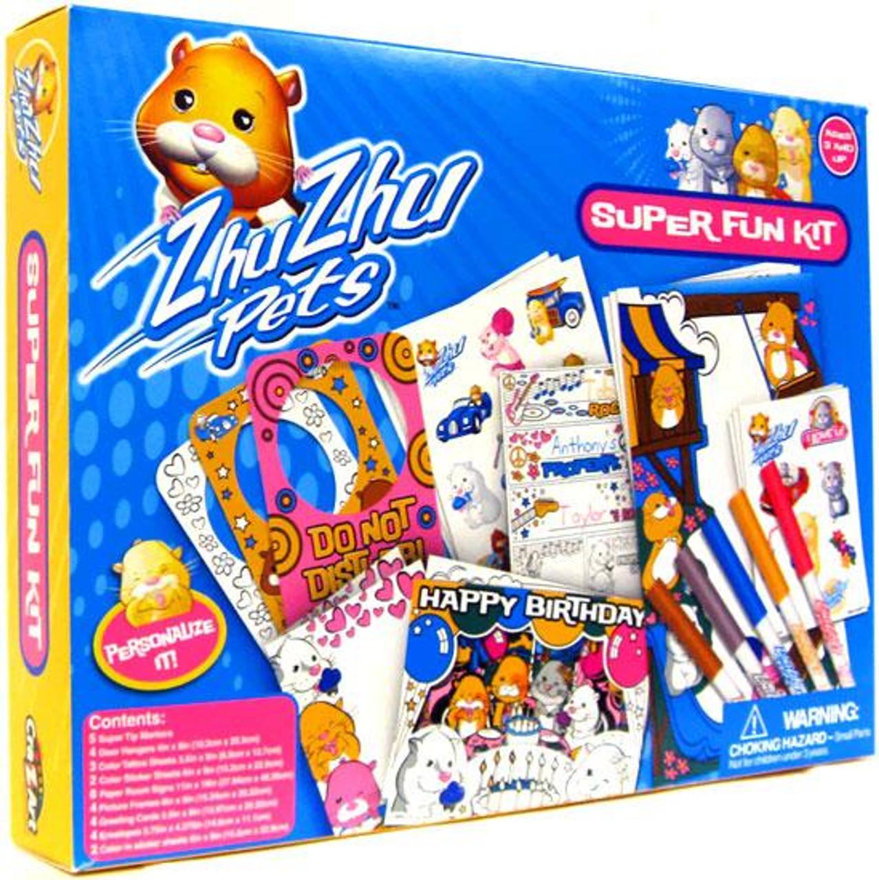 Zhu Zhu Pets Super Fun Kit Activity Set
