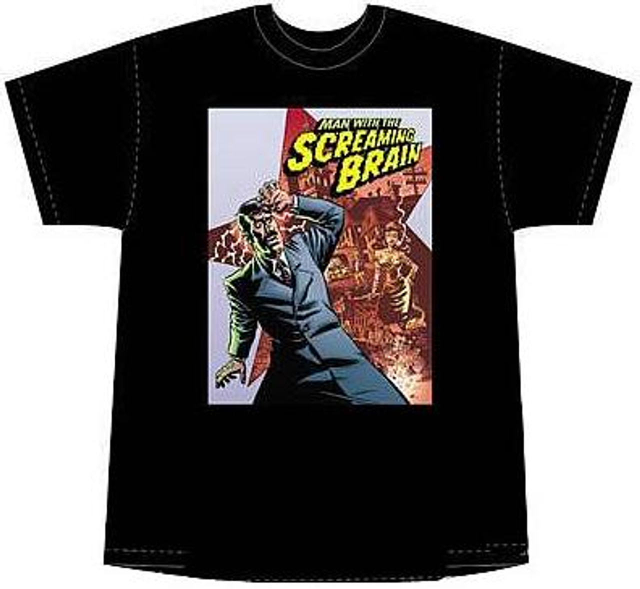The Man With the Screaming Brain T-Shirt [X-Large]