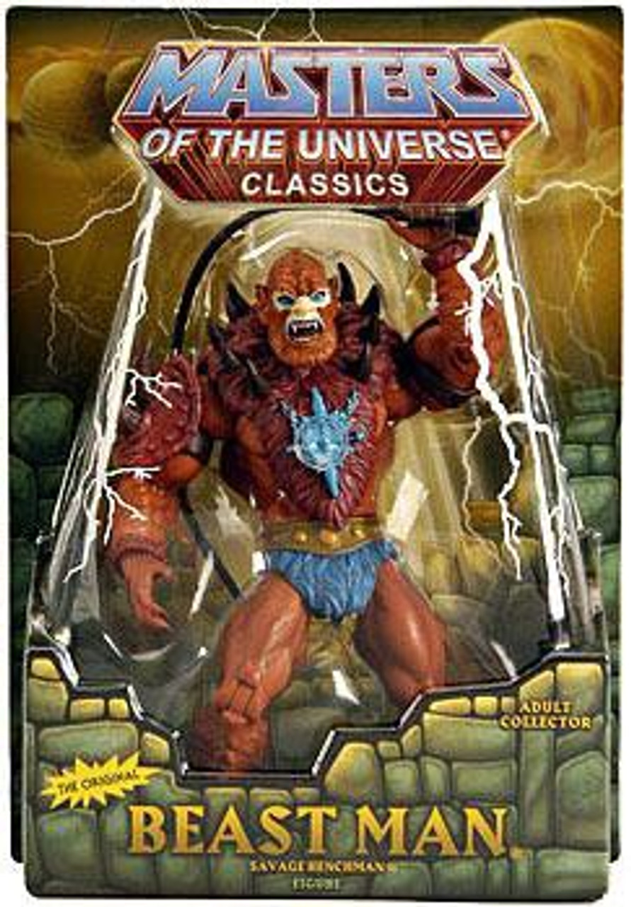 Masters of the Universe Classics Club Eternia Beast Man Exclusive Action Figure