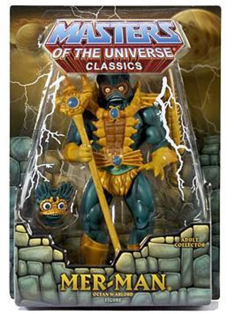 Masters of the Universe Classics Club Eternia Mer-Man Exclusive Action Figure