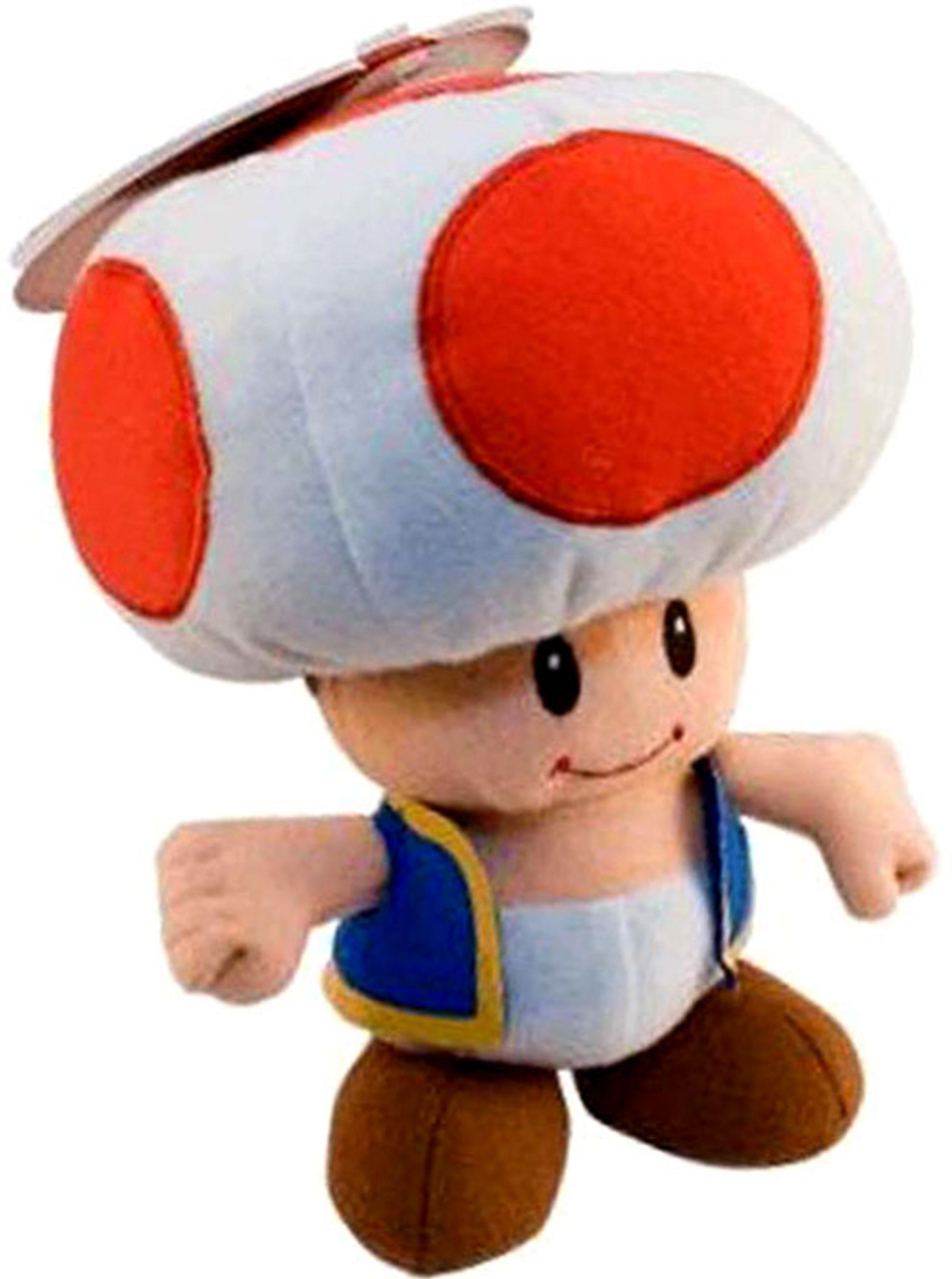 Super Mario Series 2 Toad 6-Inch Plush