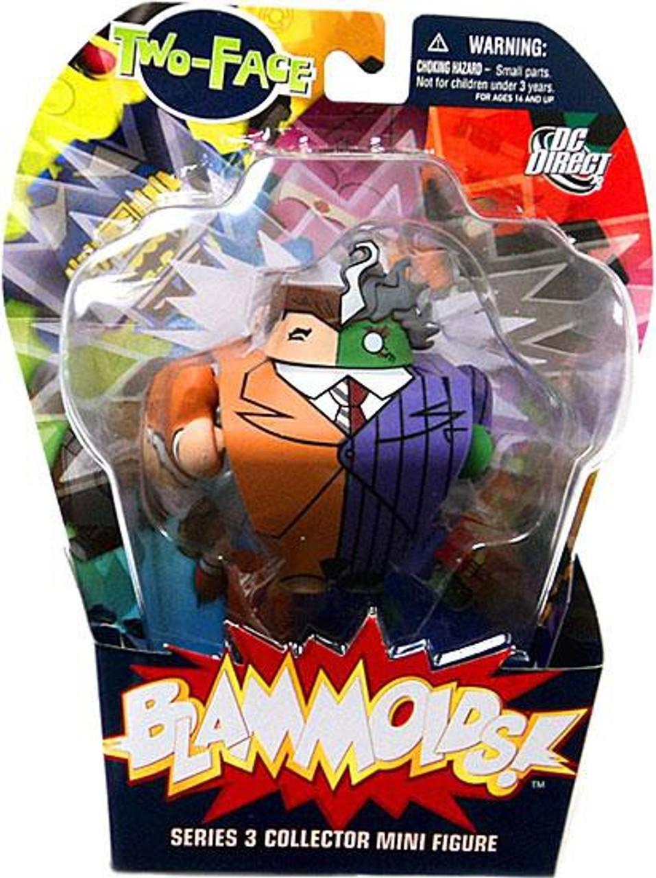 DC Blammoids Series 3 Two-Face Mini Figure