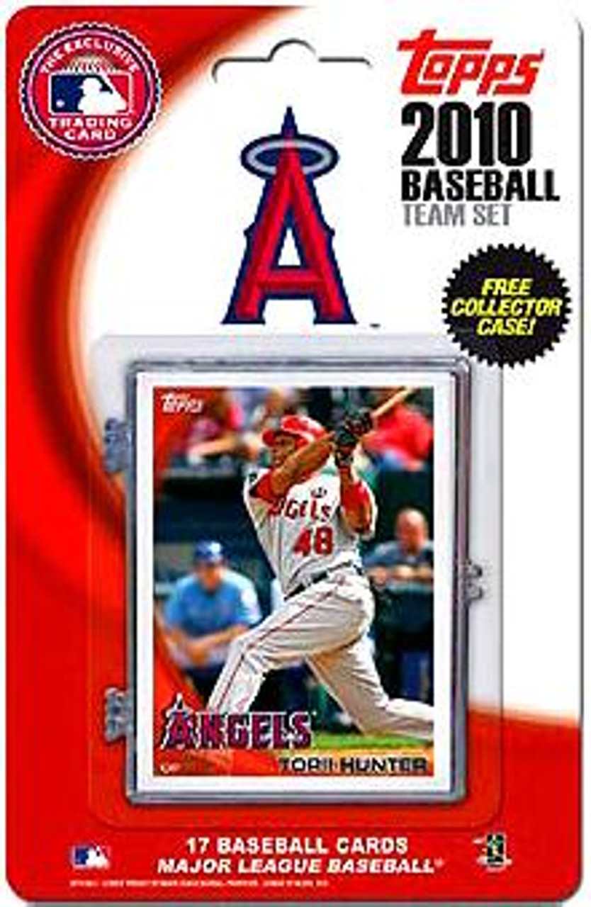MLB 2010 Topps Baseball Cards Los Angeles Angels Exclusive Team Set