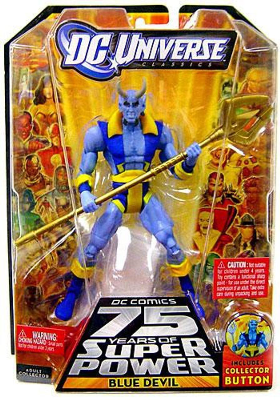 DC Universe 75 Years of Super Power Classics Trigon Series Blue Devil Action Figure