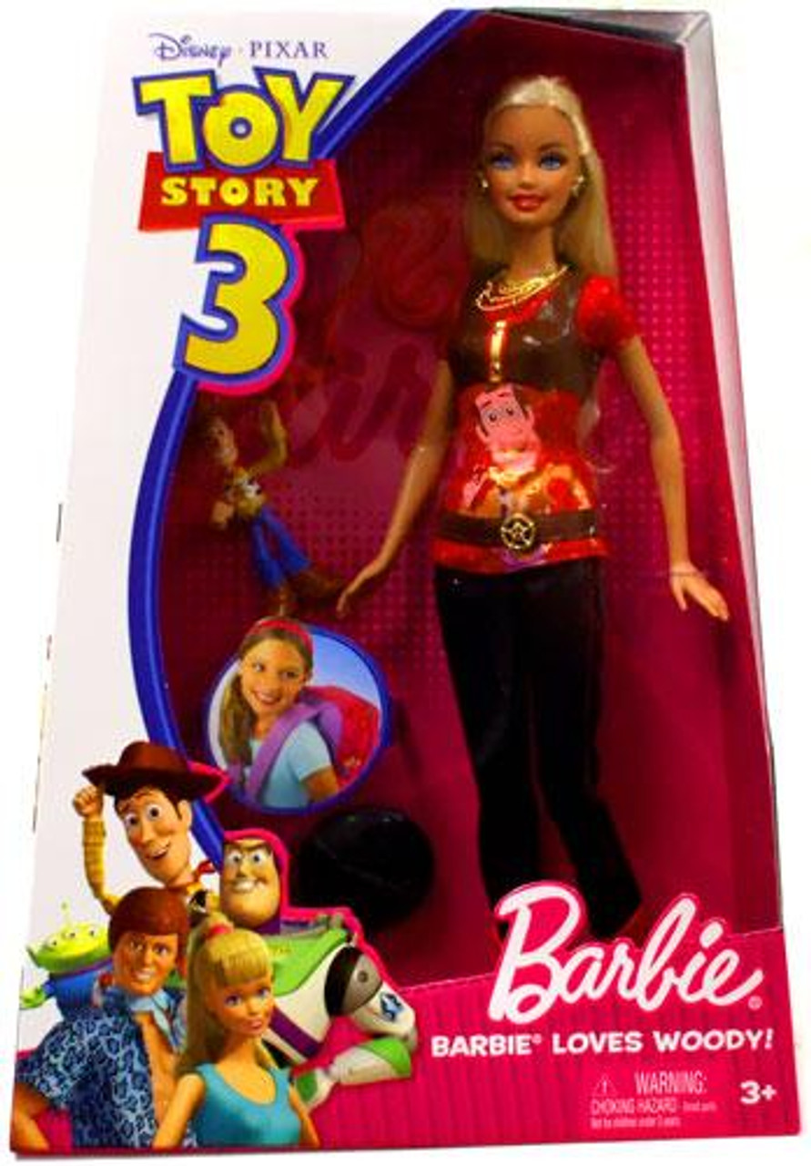Toy Story 3 Barbie Loves Woody Doll
