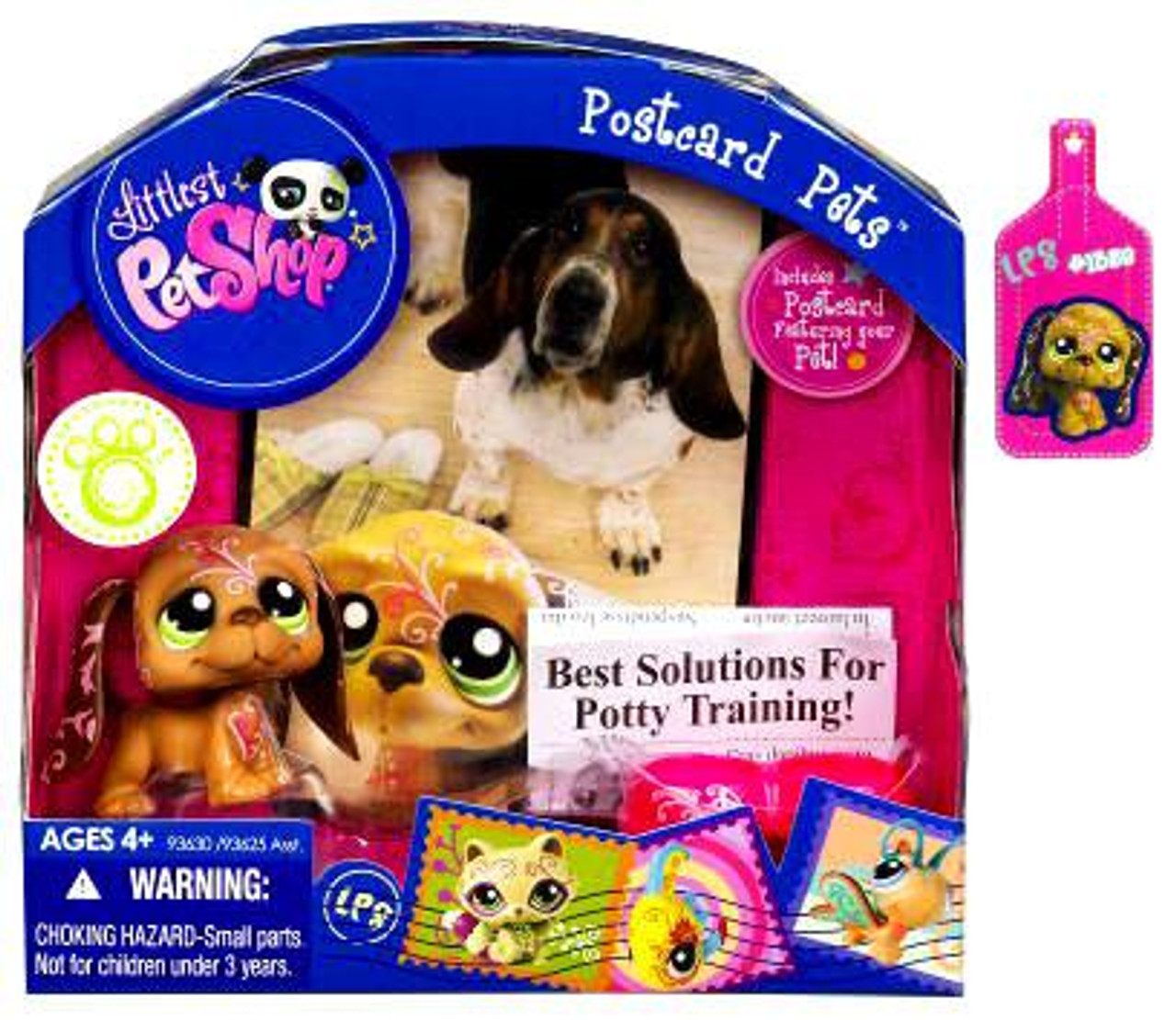 Littlest Pet Shop Postcard Pets Figure