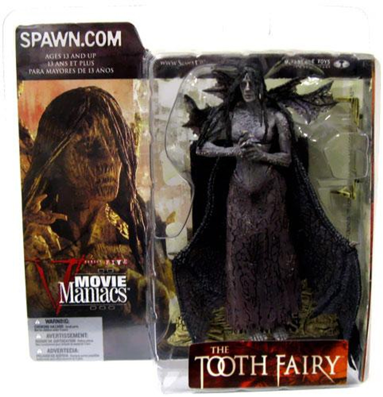McFarlane Toys Movie Maniacs Series 5 The Tooth Fairy Action Figure