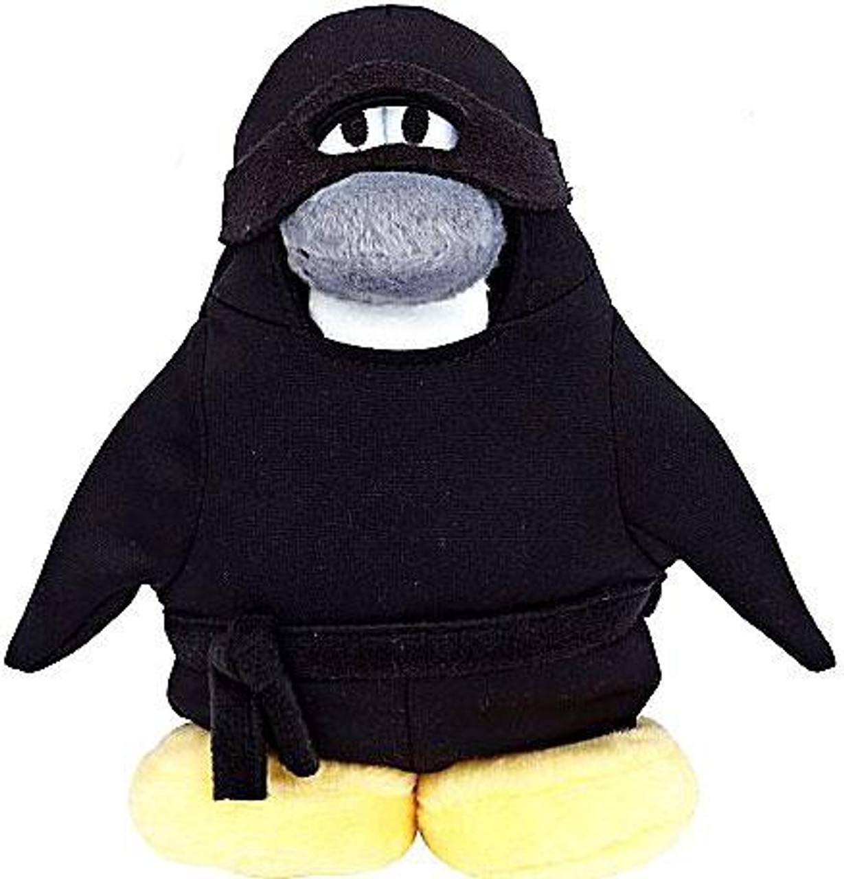 Club Penguin Series 6 Ninja 6.5-Inch Plush Figure [Version 2]
