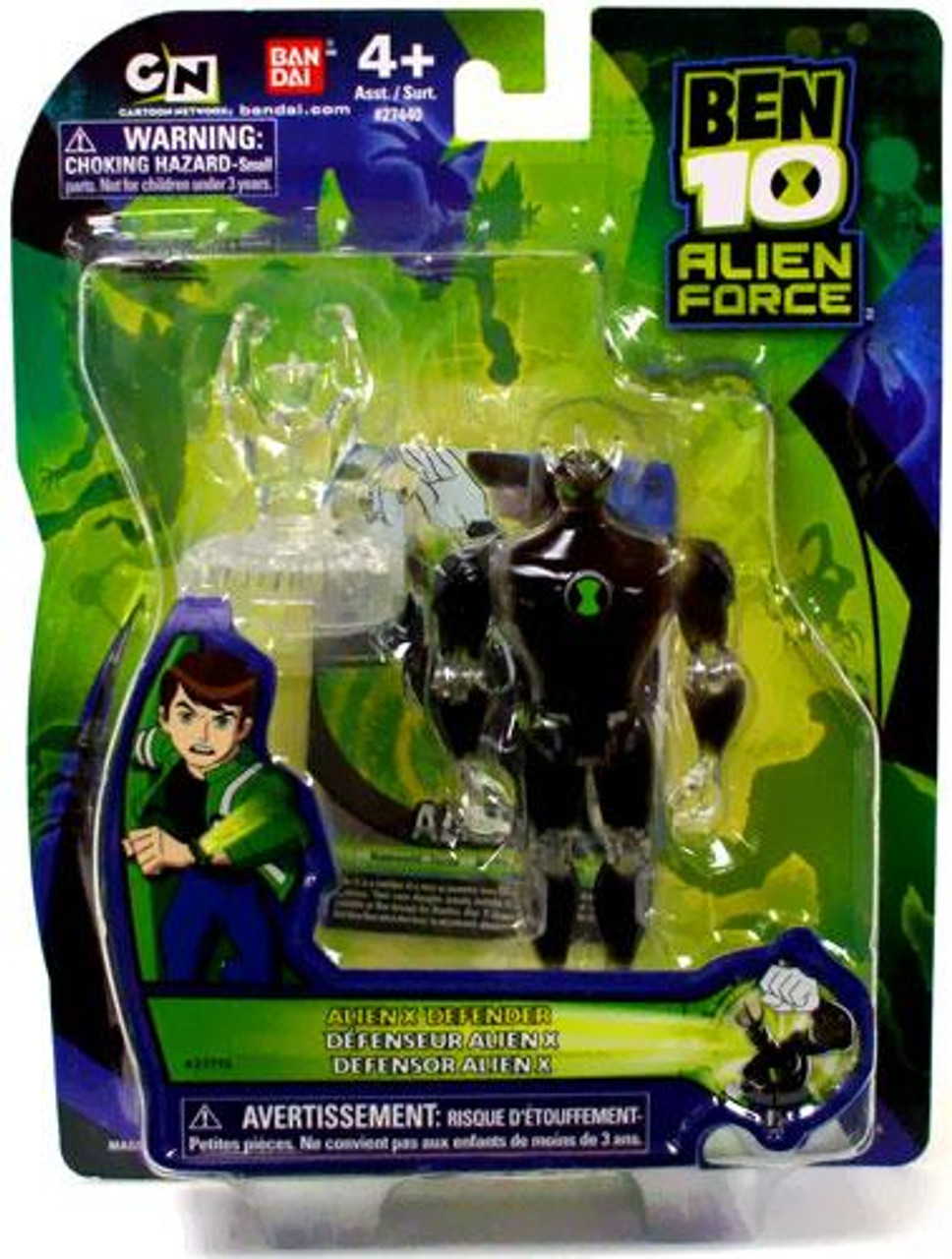 Ben 10 Alien Force Alien X Defender Action Figure